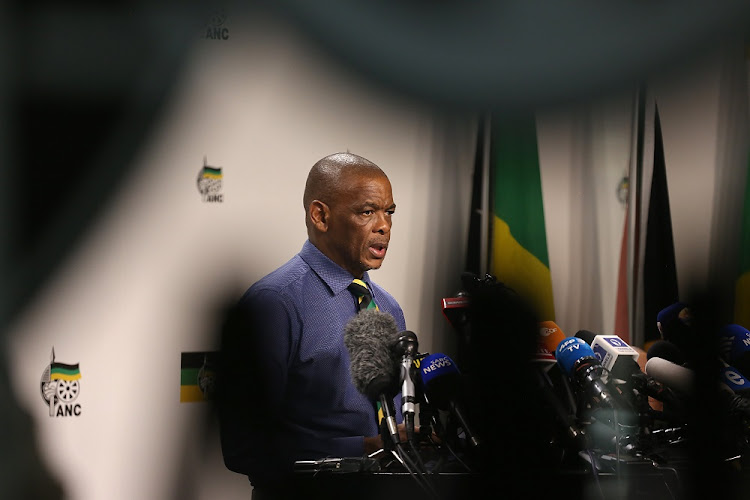 ANC secretary-general Ace Magashule.