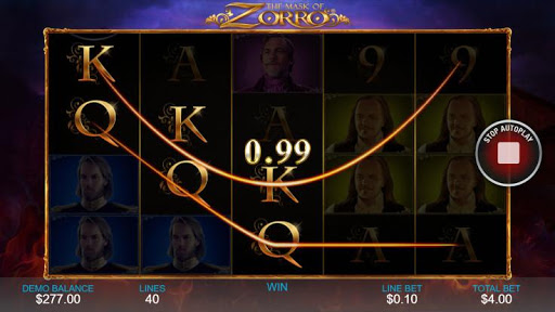 Casino Free Slot Game - THE MASK OF ZORRO 1.0.1 screenshots 2