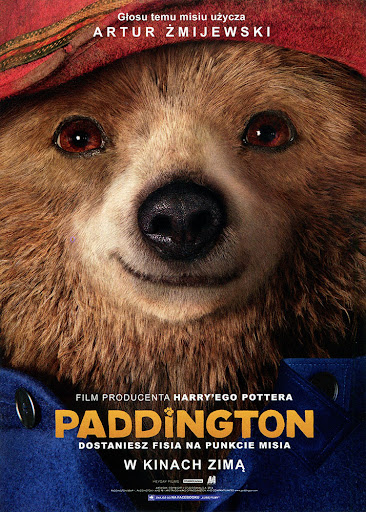 Przód ulotki filmu 'Paddington'