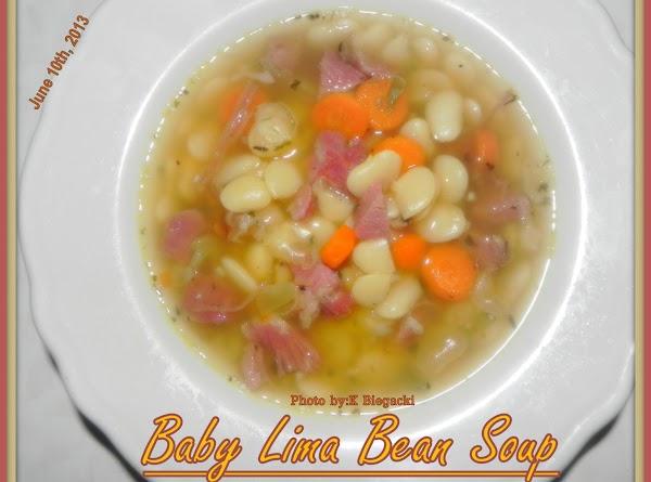 Baby Lima Bean Soup Recipe
