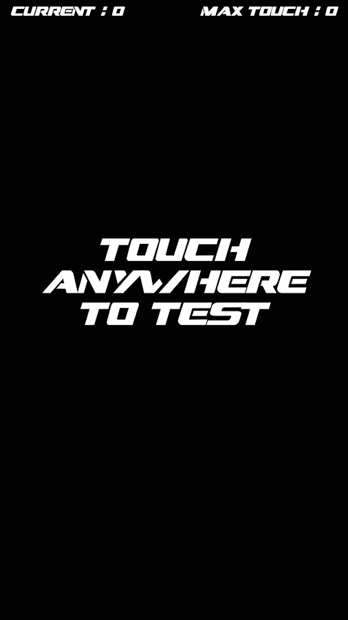 Test Device Multitouch- screenshot