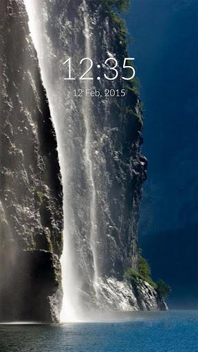 Norway Waterfall Wall Lock