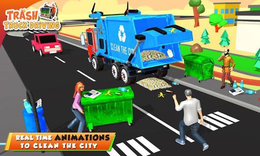 Urban Garbage Truck Driving - Waste Transporter 1 screenshots 4