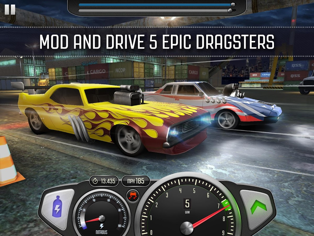Top Speed: Drag & Fast Racing- screenshot
