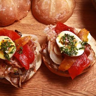 Chivito Steak Sandwich