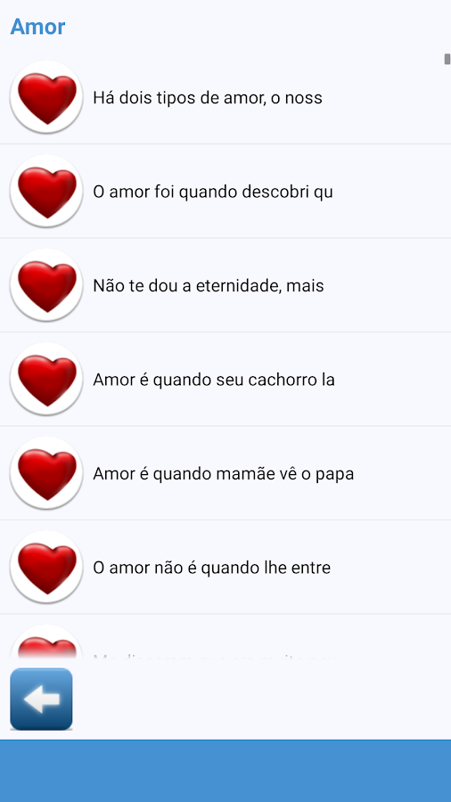 Phrases to Share in Portuguese- screenshot