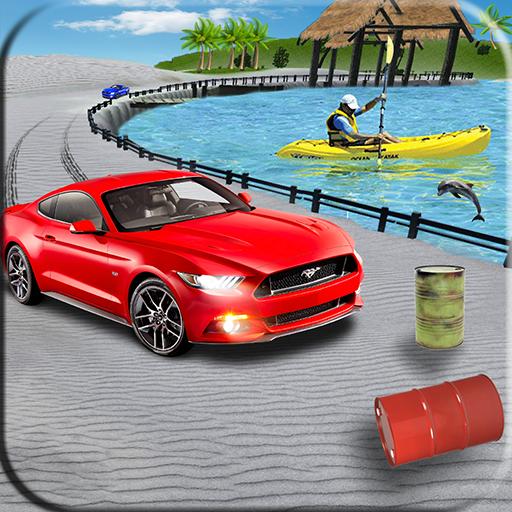 Water Surfer Beach Car & Car Driving