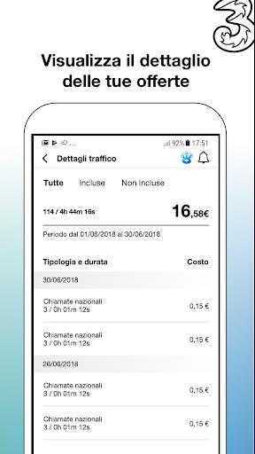 My3 | Area Clienti 3 7.3.1 screenshots 2
