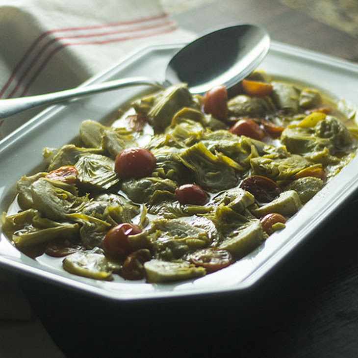 Spanish Marinated Artichoke Appetizer