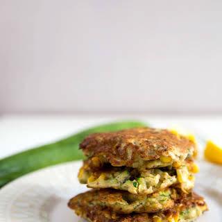 Corn And Zucchini Fritters (gluten Free/paleo).