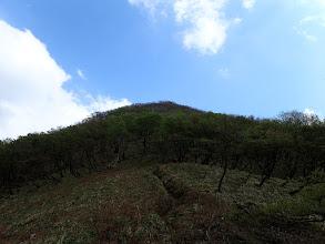 雨乞岳へ登る