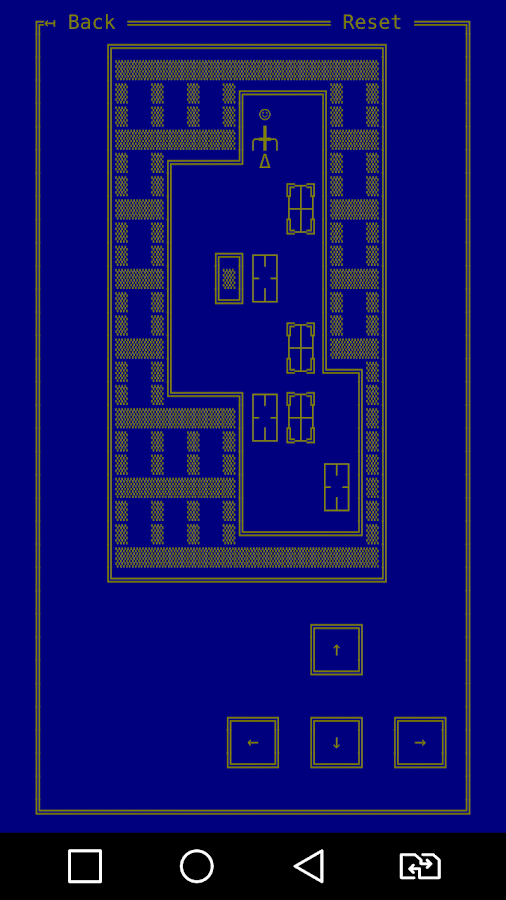WaHoKe (Sokoban in ASCII)- screenshot