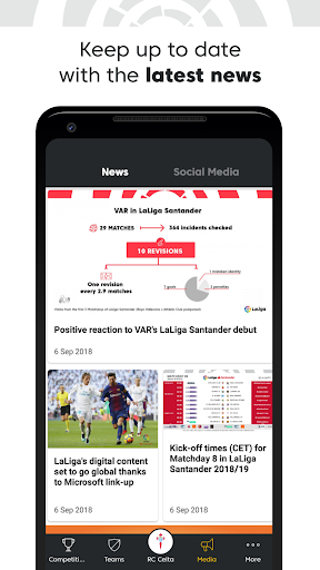 La Liga - Spanish Soccer League Official 7.0.7 screenshots 5