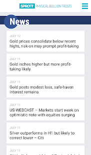 Sprott Bullion Tracker- screenshot thumbnail