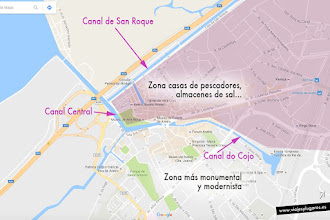 Photo: Los canales principales dividen la ciudad en dos zonas diferenciadas, la de las casas de los pescadores y la zona monumental con casas modernistas e iglesias barrocas. Bueno, con excepciones, claro.