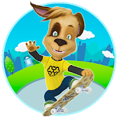 Pooches: Skateboard