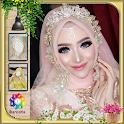 Kebaya Hijab Bridal Photo Frame icon