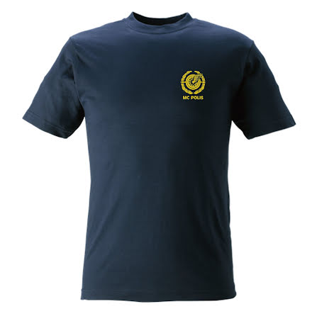 T-shirt bomull MC POLIS