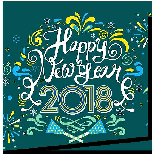 Happy New Year 2018 Photo Editor (app)