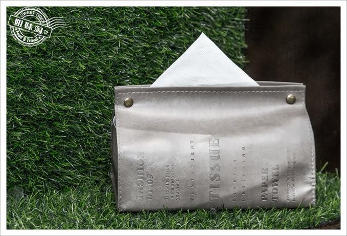皮件紙巾盒