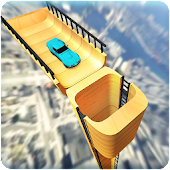 Vertical Ramp Car Extreme Stunts Racing Simulator