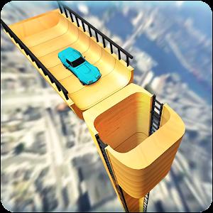 Vertical Ramp Car Extreme Stunts Racing Simulator for PC