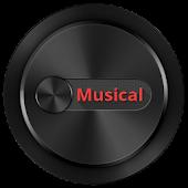 Musical Zooper Widget Skin