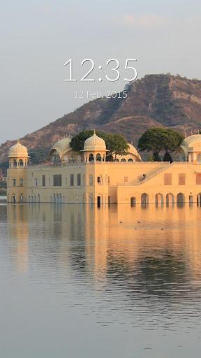 Jaipur Jal Mahal Wall Lock