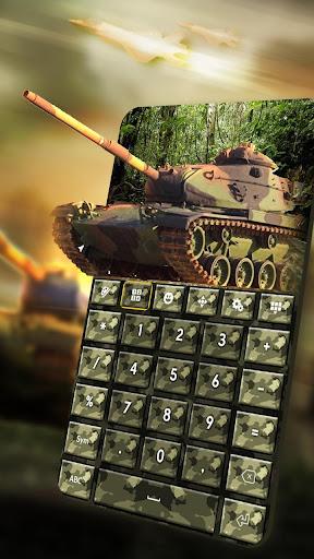 Army Camouflage Keyboard