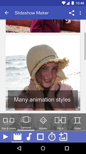 Scoompa Video - Slideshow Maker and Video Editor 26.7 screenshots 2