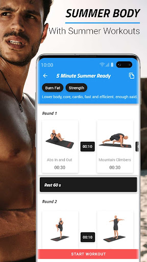 Download Summer Bodyweight Workouts & Exercises 4.3.3 2