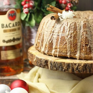 Coquito Cinnamon Roll Bundt Cake – Plus a HUGE (huge!) Amazon Giveaway for Christmas Week!