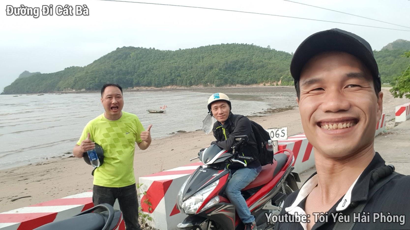 Đường đi xe máy từ Hải Phòng tới đảo Cát Bà 3