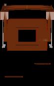 a pig saddle