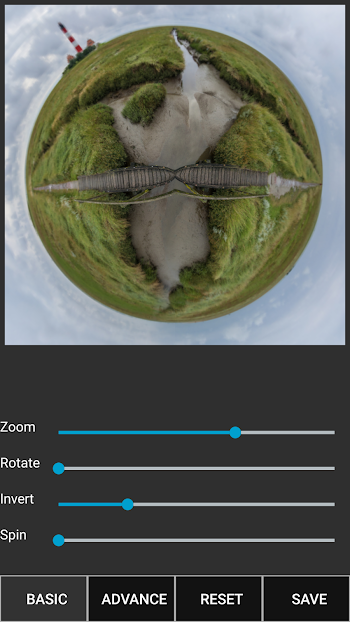 Tiny Planet FX Pro v2.2.6 APK Android Free Download