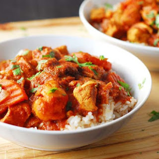 Cape Malay Chicken and Vegetable Curry.
