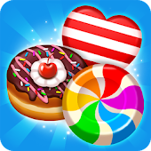 Best match 3 puzzle world : Candy Holic