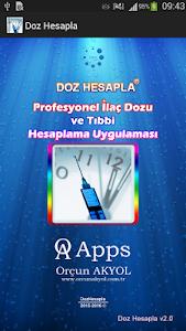 Doz Hesapla screenshot 0
