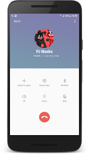 Fake Call Simulator Pj For Ladybug Masks☎ - náhled