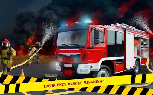 Télécharger gratuit Firefighter Emergency Rescue Hero 911 APK MOD 1