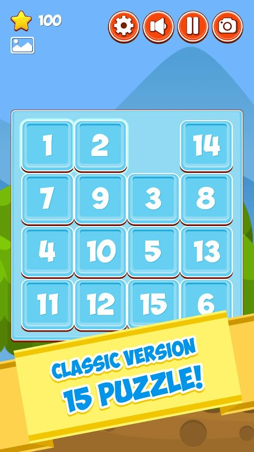 Puzzle15 PLUS- screenshot
