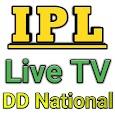Live IPL 2018 in DD National-DD Sport & Star Sport icon
