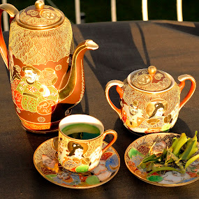 Tea from the Orient by Steve Bampton - Artistic Objects Cups, Plates & Utensils ( pwccups )