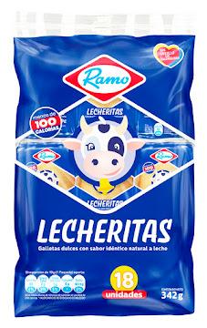 GALLETAS RAMO LECHERITAS   X18PAQ. X342GR