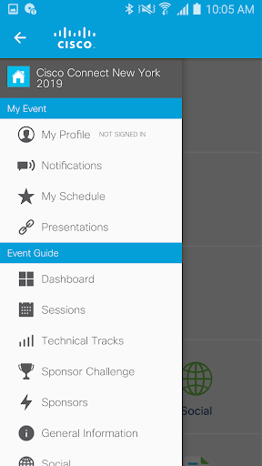 Cisco Events screenshot 3