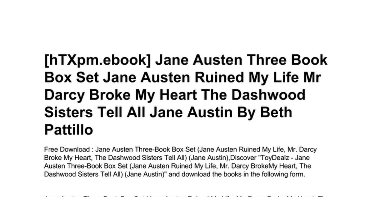 Download the complete novels of jane austen (knickerbocker classics) ….