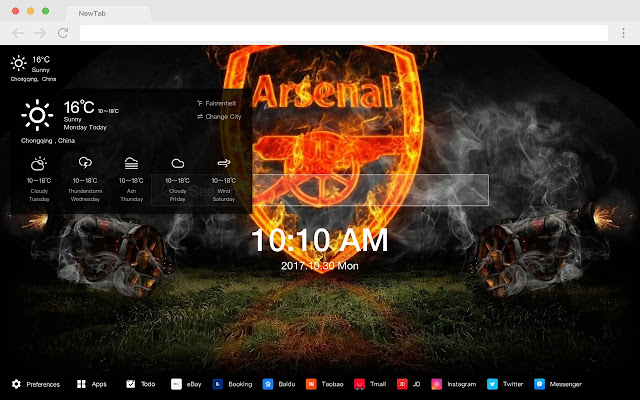 FC Arsenal Pop Sports HD  New TabsTheme