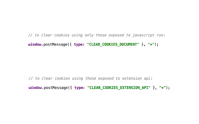 Delete All Cookies From JavaScript