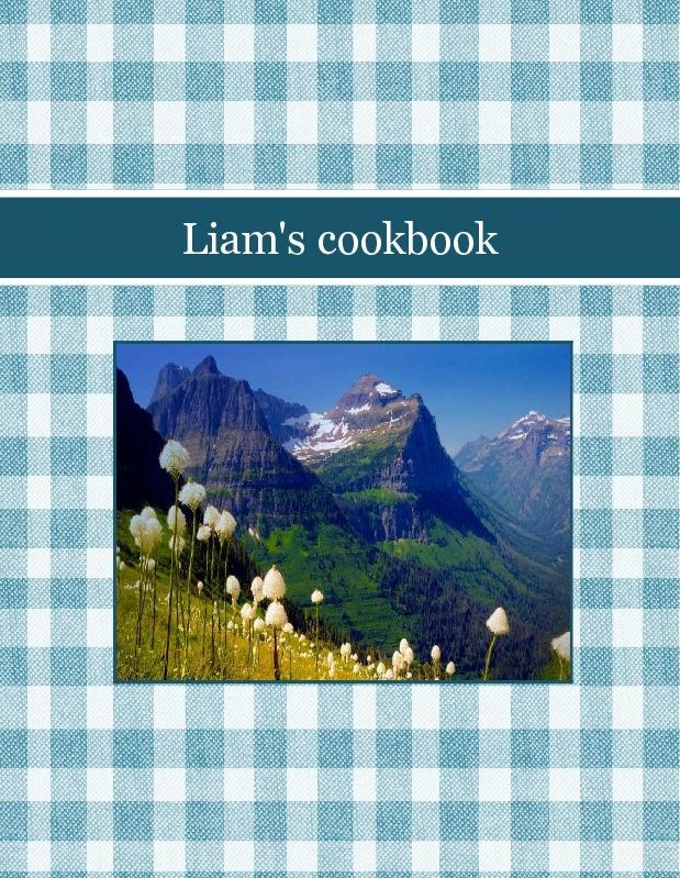 Liam's cookbook