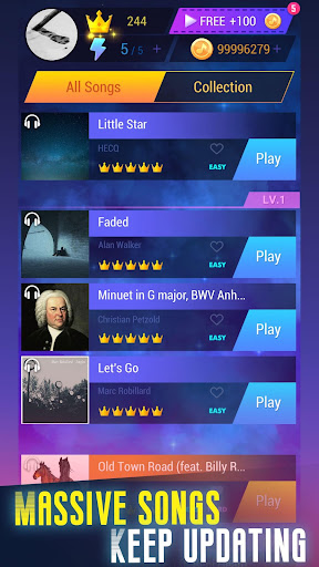 Tap Music 3D screenshot 1